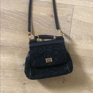 Price DROP!!!Mini dolce and Gabbana lace bag
